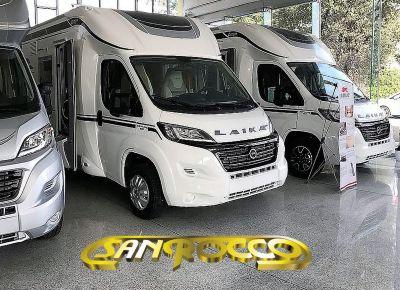 sanrocco offerta laika semintegrale ecovip 309s camper nuovo fine serie inferiore ai 7 metri
