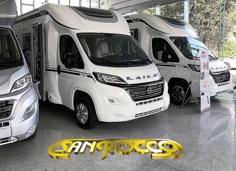 SANROCCO offerta laika semintegrale ecovip 309s - camper nuovo fine serie inferiore ai 7 metri