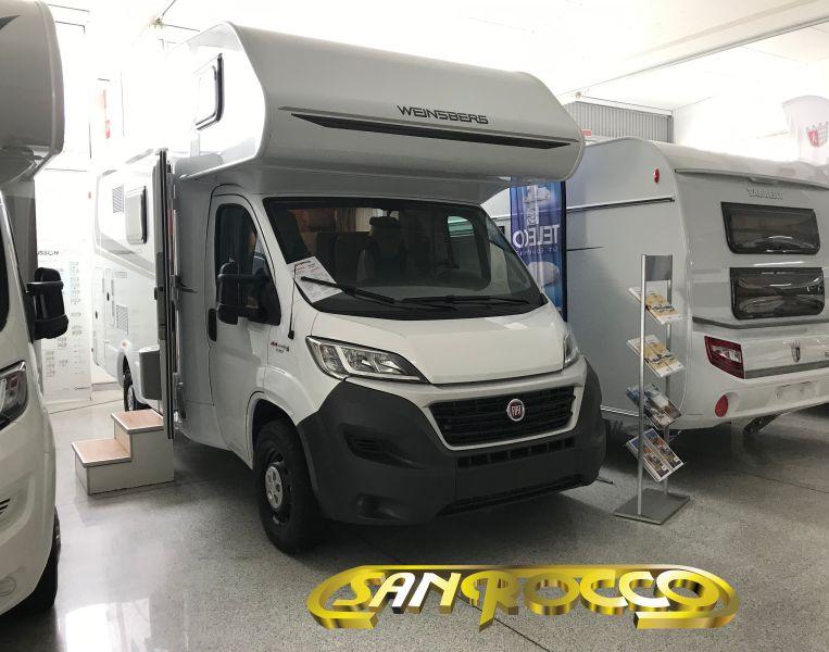 SANROCCO offerta camper mansardato weinsberg carahome 600 dkg - autocaravan 6 posti nuovo