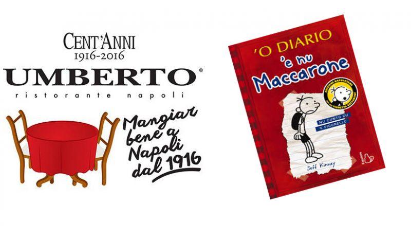 Umberto offerta cena autore Jeff Kinney best seller - occasione ospite a cena da umberto Napoli