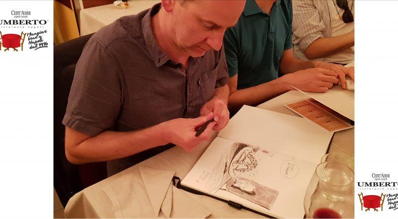 Umberto ristorante offerta fiera del fumetto - occasione menu a fumetti comicon 2019 Napoli