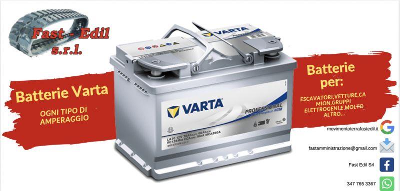 FAST EDIL - Offerta batteria per camion , batteria per miniescavatore , batteria per auto VARTA