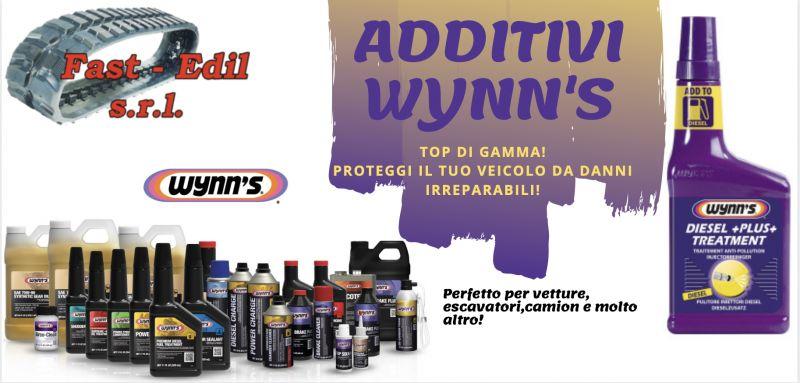 FAST EDIL - Offerta additivi wynn's per escavatori, auto, camion e molto altro
