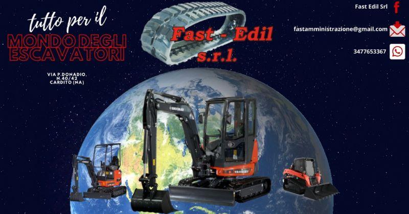 FAST EDIL - offerta vendita e noleggio di miniescavatori napoli