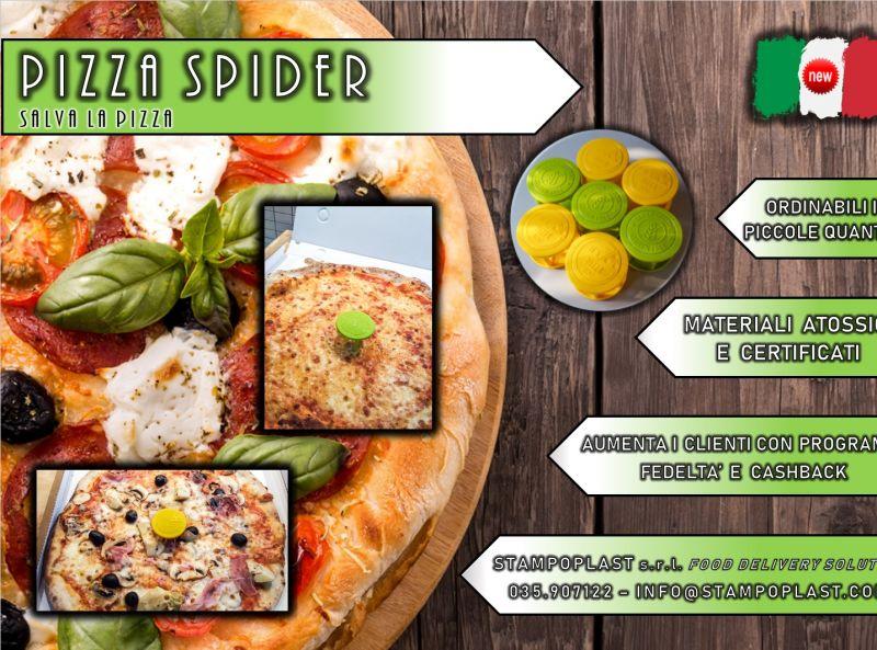 STAMPO PLAST offerta distanziali in plastica per la pizza - promozione Pizza Spider