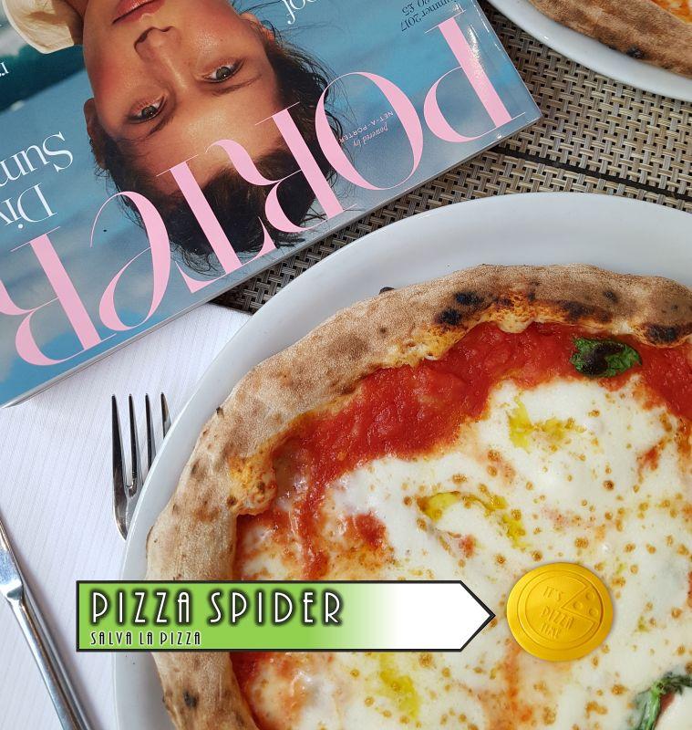 PIZZA SPIDER offerta distanziatori in plastica riutilizzabili - promozione distanziatori pizza personalizzati