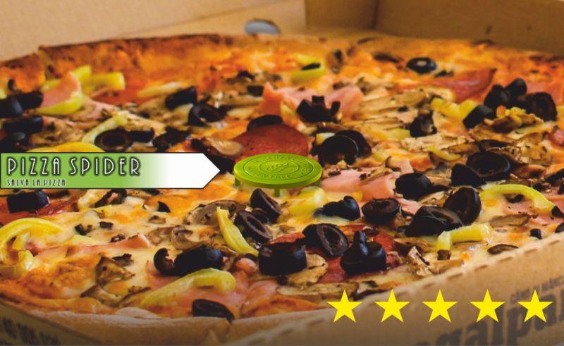 PIZZA SPIDER offerta distanziatori pizza plastica alimentare - promozione distanziatore pizza cartone
