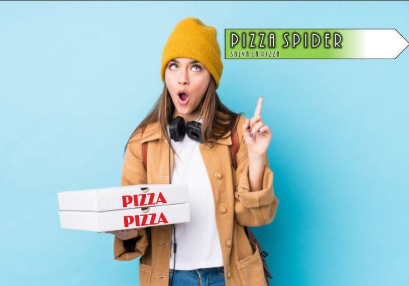 PIZZA SPIDER offerta salva pizza – promozione distanziali pizza cartone