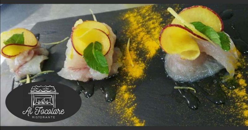 Offerta cena romantica a base di pesce Ariccia - Occasione cena a lume di candela Albano