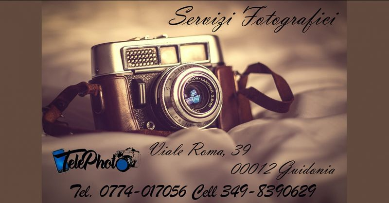 Offerta Servizi fotografici anche a domicilio Guidonia