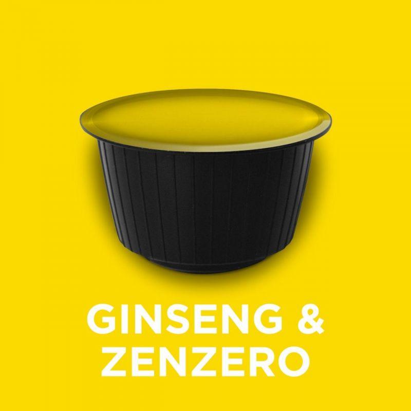 Benefici di ginseng e zenzero pratiche capsule solubili compatibili con macchinette dolce gusto