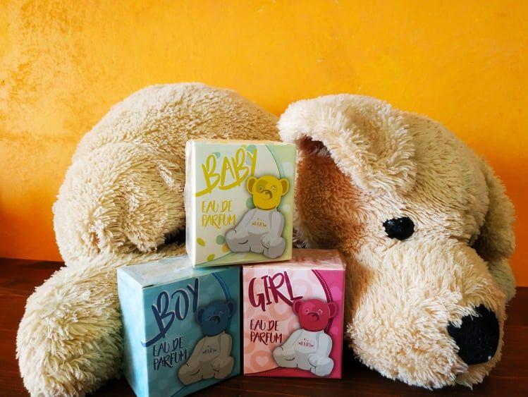 Scopri i nostri profumi per bimbo, bimba e neonato, idea regalo originale per bomboniera