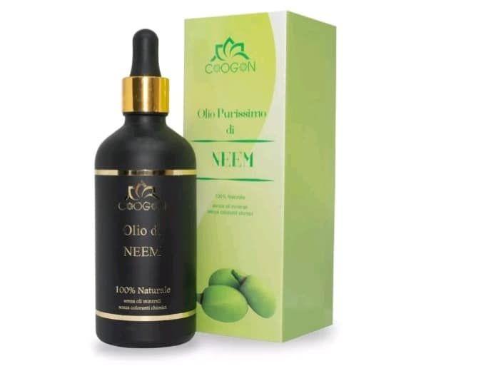 proprietà dell'olio di neem, bio 100% vegetale