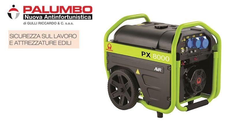 Offerta generatore Pramac PX8000 Galatina – Promozione generatore di corrente Pramac Lecce