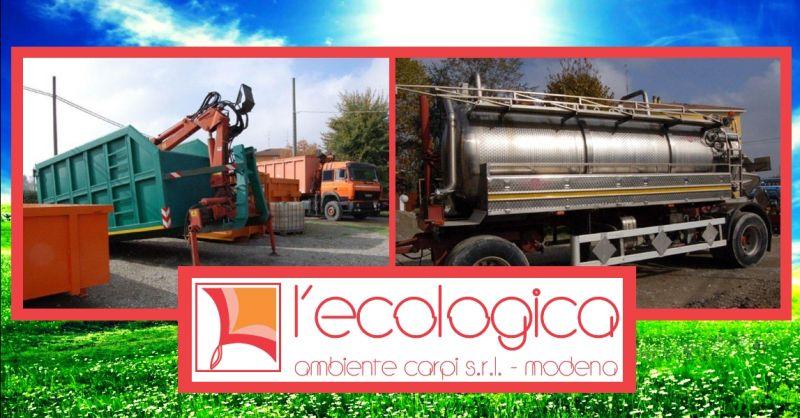 offerta trasporto rifiuti industriali - occasione trasporto rifiuti liquidi e solidi Modena