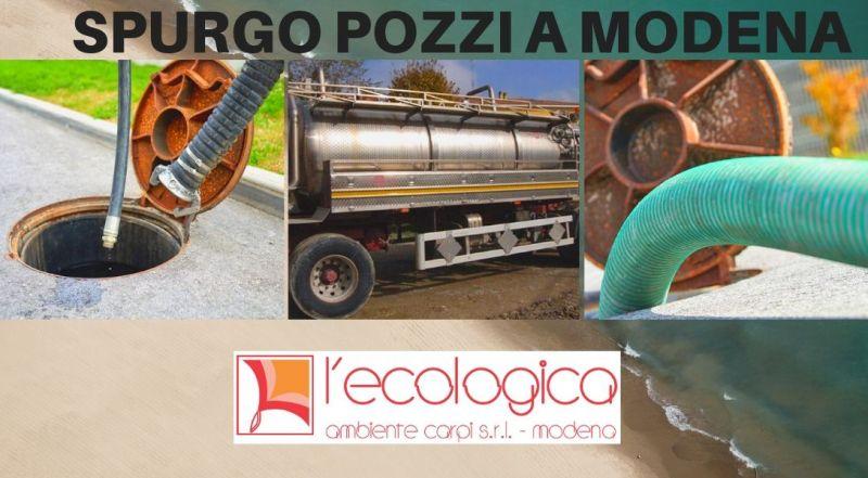 Offerta servizio di spurgo per fognature a Modena – Occasione servizio spurgo pozzi neri a Modena