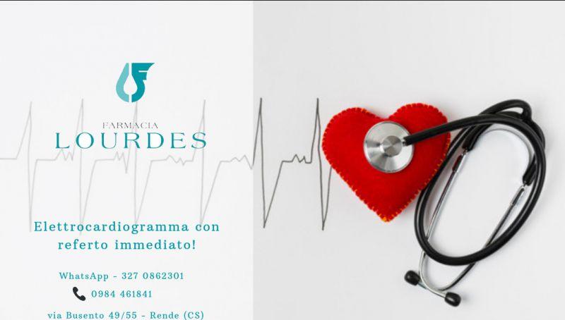 Promozione elettrocardiogramma immediato cosenza - offerta ecg in farmacia rende