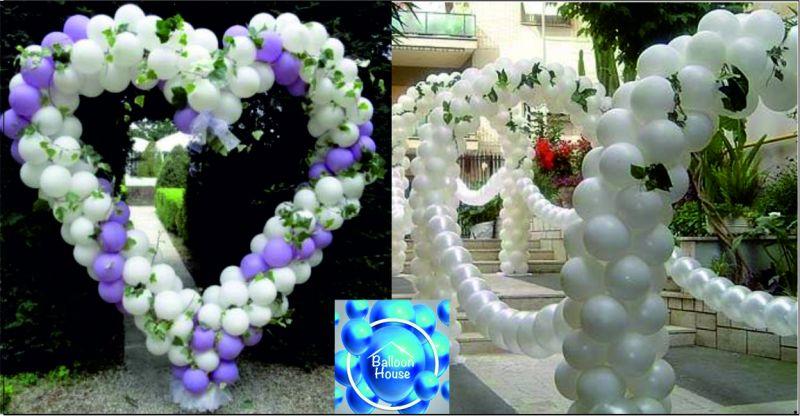 Balloon House offerta allestimenti matrimoni - occasione allestimenti matrimoni sul posto