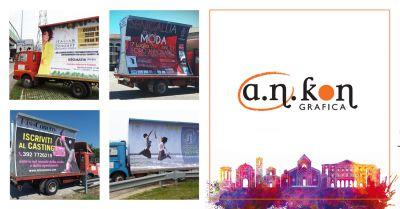a n kon grafica offerta noleggio camion vela occasione camion vela pubblicitari ancona