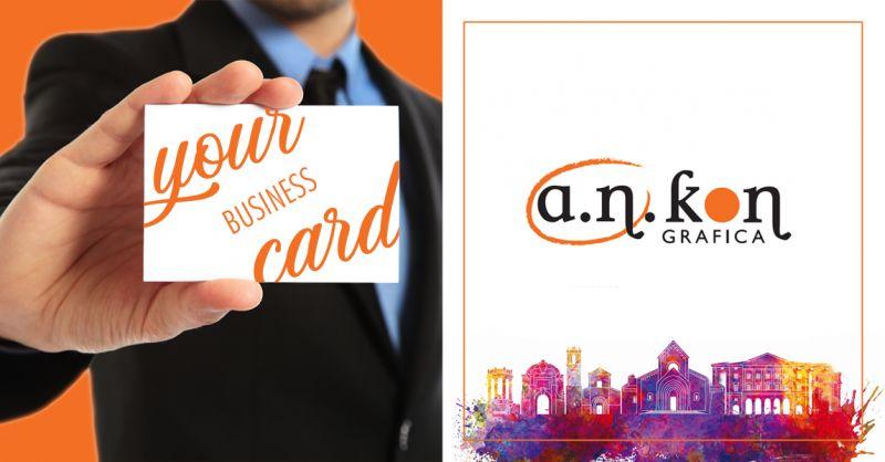A.N.KON GRAFICA - offerta grafica stampa biglietti da visita ancona