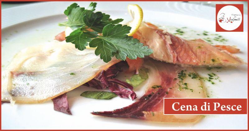 trattoria da volpelli offerta cena di pesce - occasione cena a menu fisso perugia