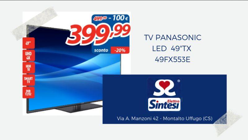 Offerta tv panasonic led cosenza - offerta panasonic led 49 pollici cosenza - offerta panasonic