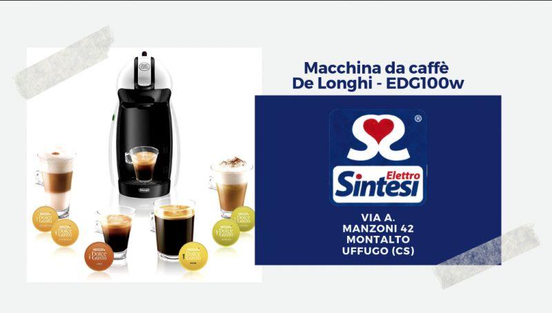 Offerta macchina caffe de longhi cosenza - offerta edg100w  de longhi montalto uffugo