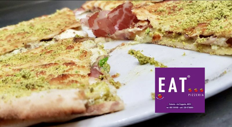 EAT offerta pizzeria - occasione pizza bordi ripieni Catania