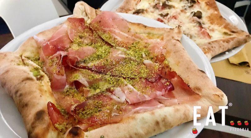 Eat pizzeria offerta pizzeria - occasione pizza cotta nel forno a pietra Catania