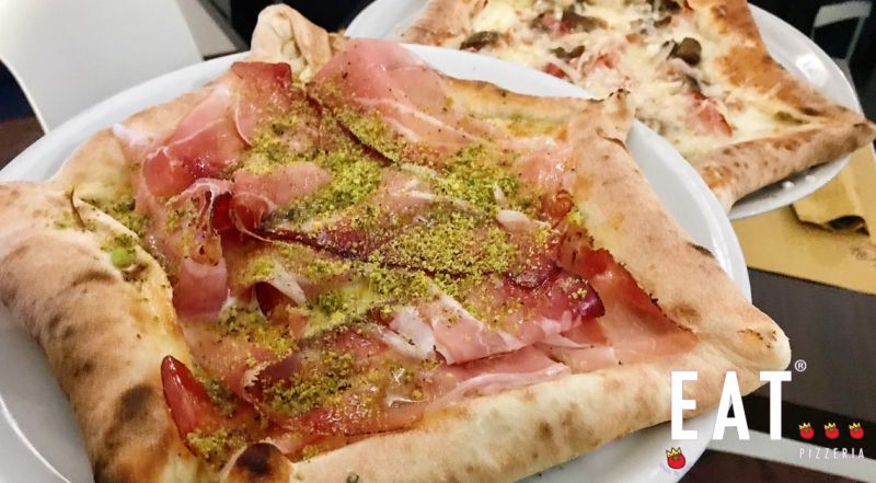 Eat pizzeria offerta pizzeria - occasione pizza bordo ripieno Catania