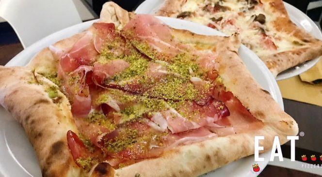 Eat pizzeria offerta della migliore pizza a Catania - occasione pizza bordo ripieno Catania