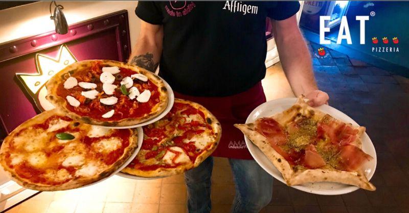offerta pizza con farina di timilia catania - occasione pizzeria via santa filomena catania