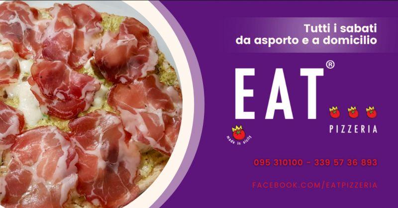 EAT PIZZERIA Offerta pizzeria Catania servizio a domicilio - occasione pizza da asporto Catania