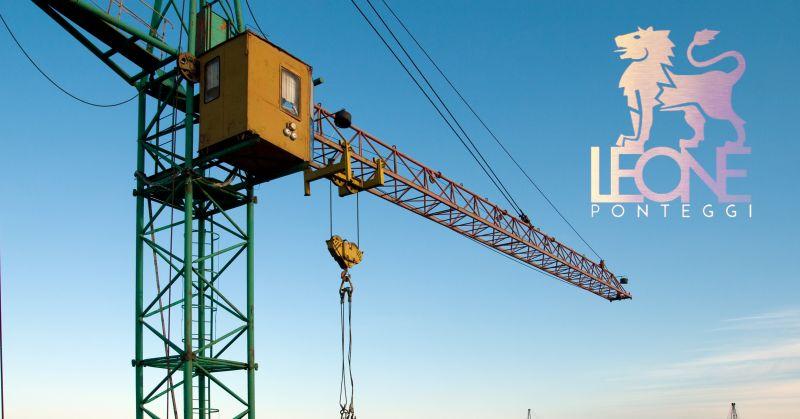 Leone ponteggi offerta ascensori da cantiere - occasione ascensore ponteggi edilizia Napoli