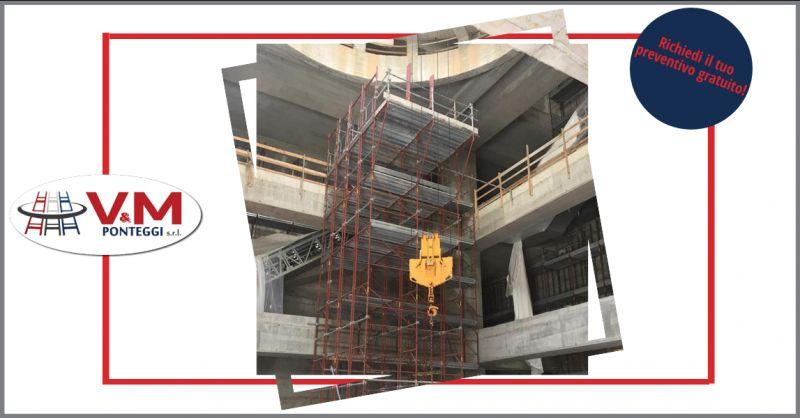 offerta vendita ponteggio fisso condor e scale da cantiere - occasione vendita puntelli edili