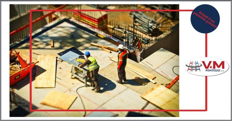 offerta pannelli da carpentiere napoli - occasione ponteggio fisso condor e scale da cantiere