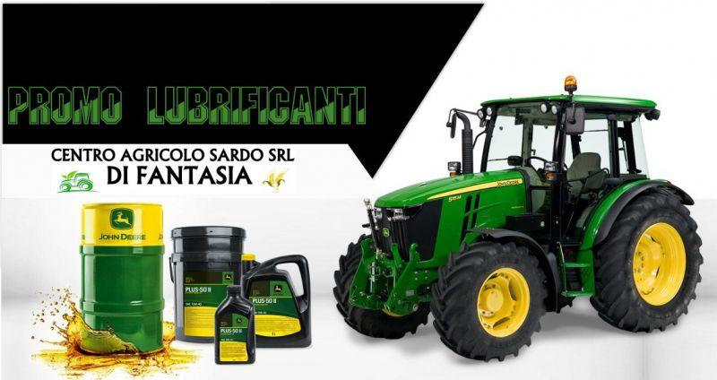 FANTASIA CENTRO AGRICOLO SARDO - promozione lubrificanti macchine agricole John Deere