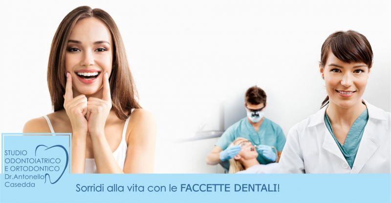 Dr. Antonello Casedda - offerta faccette dentali per rinnovare sorriso scopri i costi