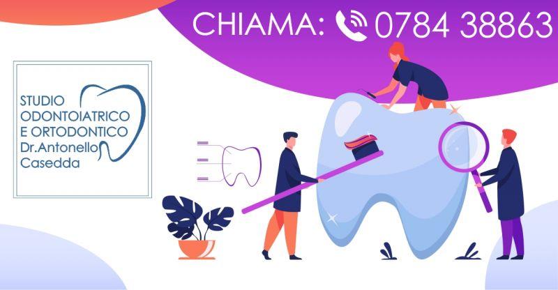 Dr  Antonello Casedda - offerta igiene orale pulizia dei denti
