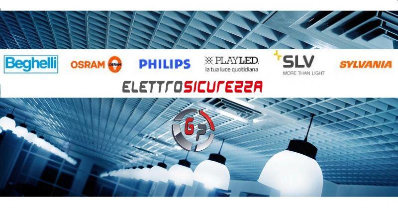 G.P. Elettrosicurezza - Offerta impianti illuminanti a LED prodotti di desing località Anzio
