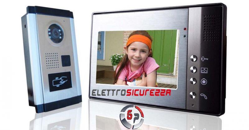 G.P. ELETTROSICUREZZA - Occasione realizzazione impianti citofonici e videocitofonici Anzio