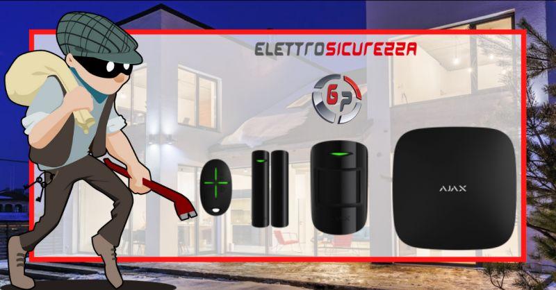 Offerta vendita allarme ajax roma - occasione vendita sistemi di allarme anzio