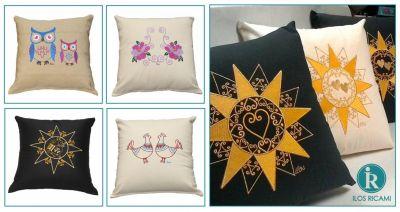 ilos oliena offerta cuscini di design moderni ricamo tradizione sarda