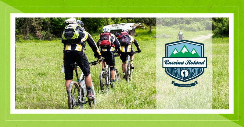 CASCINA ROLAND offerta struttura ricettiva bike friendly val susa - occasione bike hotel torino