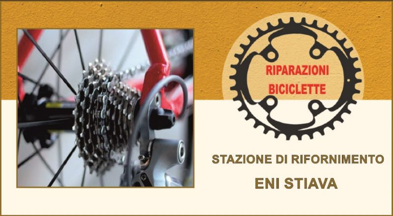 offerta riparazione biciclette e bike Lucca – STAZIONE DI SERVIZIO ENI
