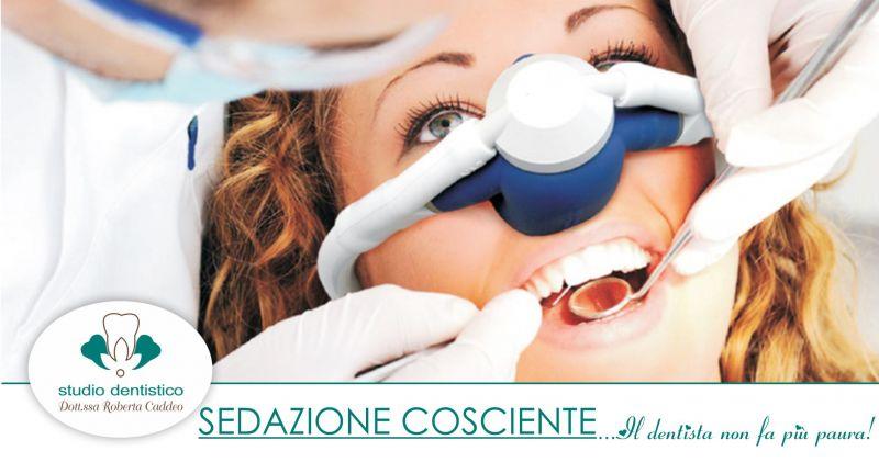 Studio Dentistico Caddeo Sardara - offerta sedazione cosciente eliminare ansia paura dentista