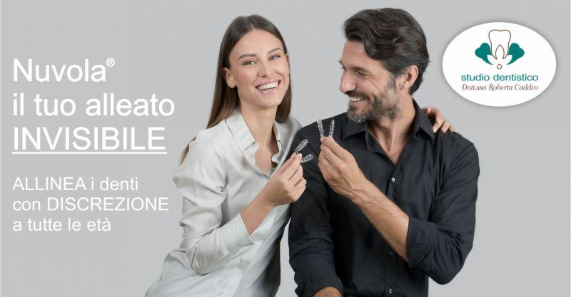 Studio Dentistico Dott ssa Caddeo Sardara - offerta sistema ortodontico Nuvola invisibile