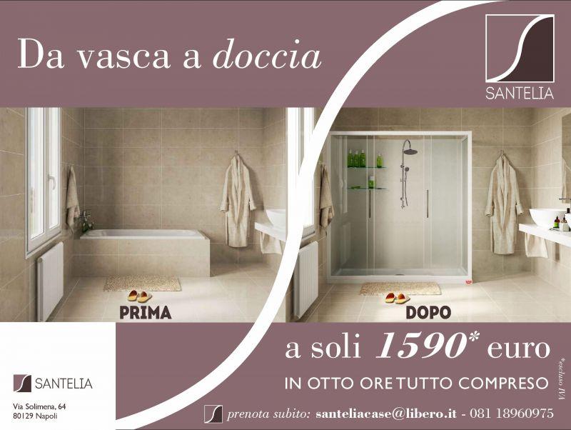 Offerta ristrutturazione bagno da vasca a doccia Napoli - occasione da vasca a doccia napoli