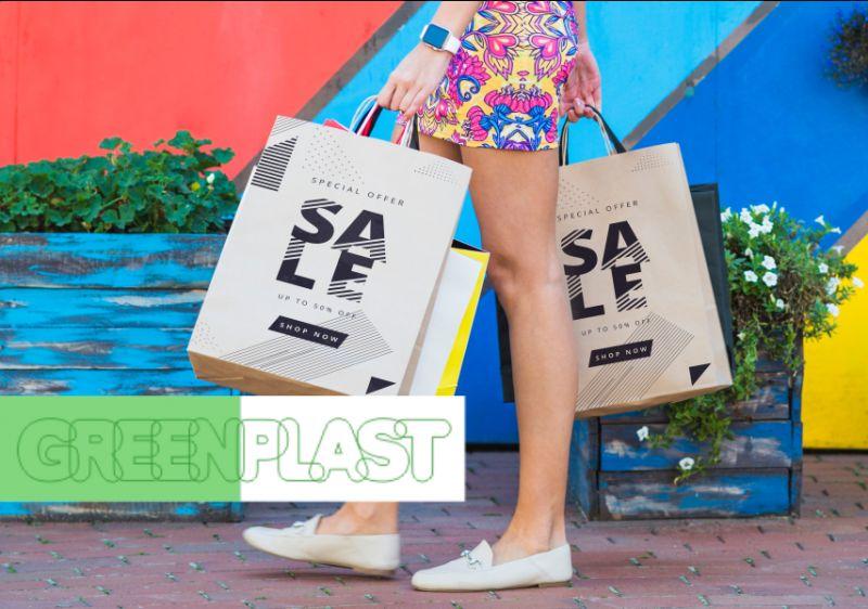 GREEN PLAST offerta buste su misura - promozione buste personalizzate imballaggi