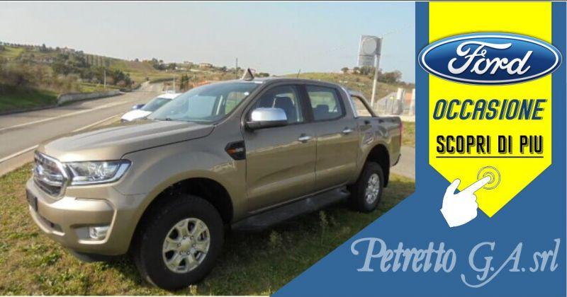 PETRETTO Ozieri - occasione FORD NEW RANGER doppia cab xlt 2.0 tdci 170cv 5 porte diesel